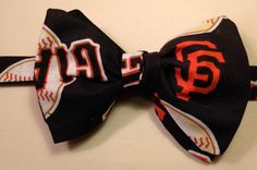 San Francisco Gaints Bowtie by ReiserCreations on Etsy