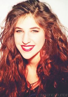 Mayim Bialik ~looking stunning. There is so much more to her than meets the eye. Actress, mother, PhD