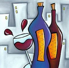 room With a View - Wine by Thomas C Fedro