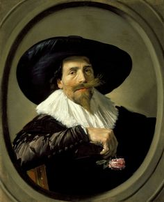 Frans Hals - Portrait of a Man, 1562.