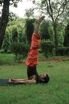 Sarvanga Asana. it works on all body parts