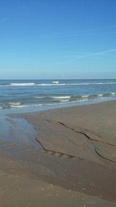 Strand in Katwijk.