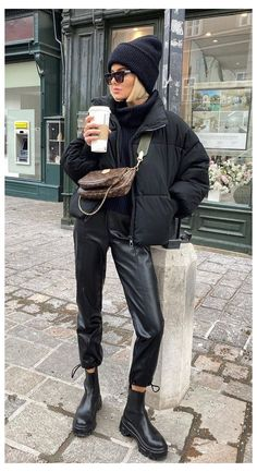Casual Winter Outfits, Winter Fashion Outfits, Look Fashion, Trendy Outfits, Fall Outfits, Outfit Winter, Cold Winter Fashion, Looks Street Style, Looks Style