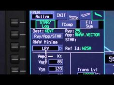 Pilot Training Video: Honeywell Primus Apex® Pilatus PC-12 NG with LPV