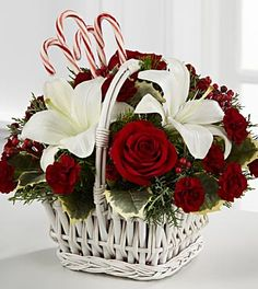 Christmas Flower Centerpieces | Christmas Flowers and Centerpieces by FTD