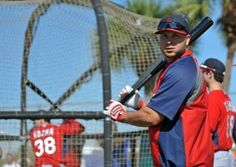 shortstop Jhonny Peralta looks on during spring training batting practice 2-17-14
