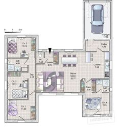 A house in phase with its time - Build Container Home The Plan, How To Plan, Shipping Container Homes, Home Jobs, Best Investments, Architect Design, House Floor Plans, My Dream Home, Building A House