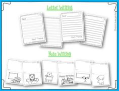 Miss Kindergarten: Writing Activities