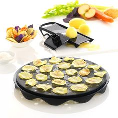 Mastrad Top Chips Microwave Potato Chip Maker and Mandoline Set Potato Chip Maker, Microwave Potato Chips, Healthy Chips, Mandoline, Healthy Potatoes, Veggie Chips, Micro Onde, Something Sweet