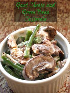 Green Bean and Goat Cheese Casserole Recipe - JoyOfKosher.com