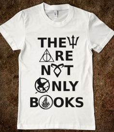 They Are Not Only Books (Percy Jackson, Harry Potter, Mortal Instruments, Hunger Games, Divergent).... NEED
