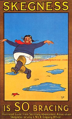 Jolly Fisherman #Poster #Skegness UK