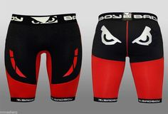 Bad Boy Sphere shorts compression MMA black/red Size: L #BADBOY #Compression