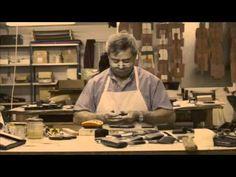 "Leather Moulding --Part Manufacturing Techniques The second part of the ""leather moulding"" manufacturing technique (video) contains the final tasks. Leather Kits, Sewing Leather, Custom Leather, Leather Bag, Leather Diy Crafts, Leather Craft Tools, Leather Projects, Craft Accessories, Leather Accessories"