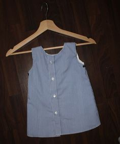 Babykleid aus Herrenhemd