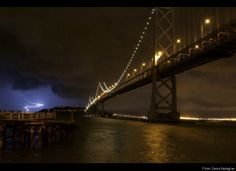 San Francisco Thunderstorm: Lightning Strikes Across The Bay Area During Downpour (PHOTOS)