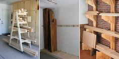 If your shop is cluttered with random pieces of wood, then you need to check out these simple solutions on how to easily organize scrap wood!