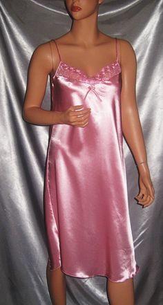 Satin Plus Size Panties for Women Satin Pjs, Satin Nightie, Silk Chemise, Satin Lingerie, Pretty Lingerie, Nightgowns For Women, Plus Size Girls, Satin Dresses, Dream Dress
