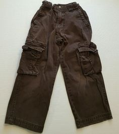 Cherokee Boys Brown Cargo Pants Size 5 100% Cotton #297 in Clothing, Shoes & Accessories, Kids' Clothing, Shoes & Accs, Boys' Clothing (Sizes 4 & Up) | eBay