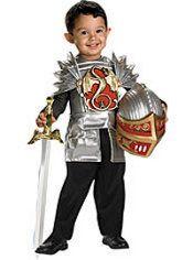 Toddler Boys Dragon Knight Costume