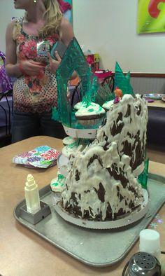 Frozen Tower- Chocolate mountain