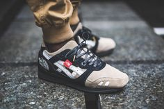 "ASICS x The North Face pour un custom GEL-Lyte III ""The Apex"""