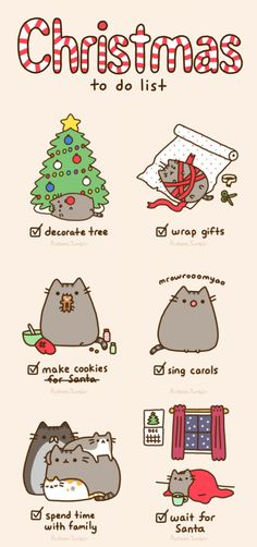 Pusheen #christmas