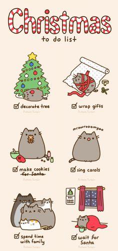 Pusheen #christmas