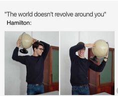 Hamilton yes, could also be Sherlock Hamilton Broadway, Hamilton Musical, Aaron Burr, Alexander Hamilton, Stupid Funny Memes, Hilarious, Funny Stuff, Random Stuff, Funniest Memes