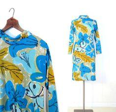Vera Neumann POLLINATION shift dress