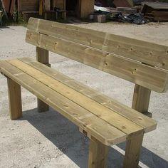 Banco de madera. Mod. Rustic                                                                                                                                                     Más