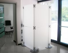 modern loft divider: ideal for loft and open spaces, this modular partition is available in many colors