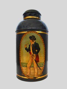 Vintage Tea Caddy, Great Britain, 1900s Vintage Tea, Vintage Style, Antique Tea Cups, Coffee Service, Coffee Wine, Tea Tins, Tea Strainer, Tea Caddy, Somerset