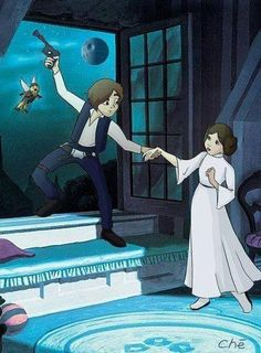#starwars peter pan I think El needs this for her new room