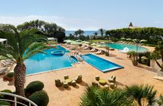 Pool area. Sneak peek of the new photoshoot at Divani Apollon Palace & Thalasso  http://divaniapollonhotel.com/