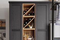 Kitchen cabinet wine rack shop the open wine cabinet kitchen cupboard wine storage . Ikea Room Planner, Kitchen Planner, Wine Storage, Closet Storage, Tall Cabinet Storage, Kitchen Cabinet Wine Rack, Kitchen Cupboards, Ikea Built In, Kitchens