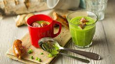Lynrask ertesuppe Fresh Rolls, Cantaloupe, Soup, Pudding, Baking, Fruit, Ethnic Recipes, Desserts, Deserts
