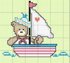 Barquinho com urso