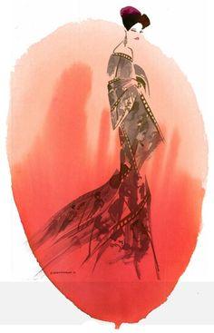 Bill Donovan Beauty Illustration Artist