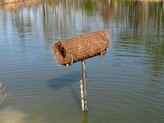 DIY Mallard Nest Tube - PetDIYs.com