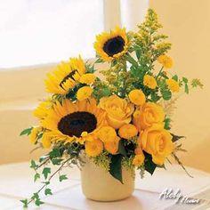 Los girasoles son sin duda alguna de las flores favoritas de todos los tiempos.