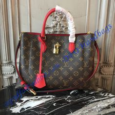 331e082b7987 Louis Vuitton Monogram Canvas Flower Tote Coquelicot is a member of the  Spring Summer collection of