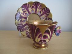 Unusual Spode Cabinet Cup Saucer Circa 1820