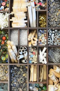 How to make tinker trays for kids for open ended process art - Reggio Inspired ≈≈
