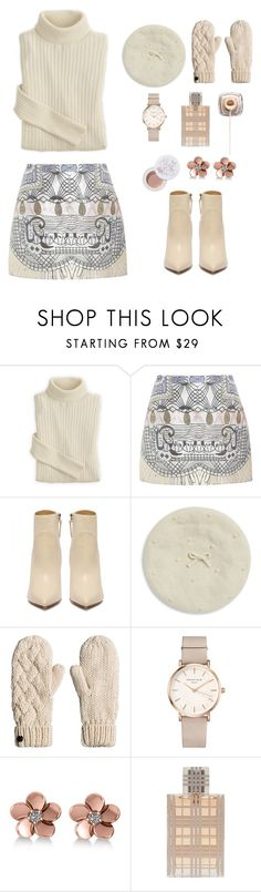 """Untitled #38"" by jelena-zivkovic-i ❤ liked on Polyvore featuring Mary Katrantzou, Kate Spade, ROSEFIELD, Allurez, Burberry and 100% Pure"