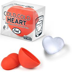 Cold, Cold Heart 3D Ice Mold $10