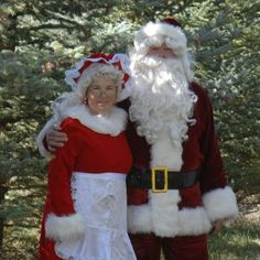 Santa and Mrs. Claus will be joining the Capitol Christmas Tree on its journey from Meeker, Colorado to Washington, DC! Join us on Tree Tour 2012: http://www.capitolchristmastree2012.com/tree-route-and-scheduled-stops.html