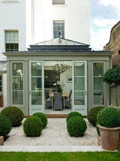Riverside Townhouse - contemporary - Sunroom - London - Sims Hilditch Så otroligt inbjudande!