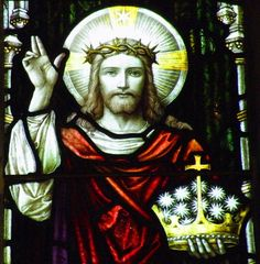 Novena in preparation for the Feast of Christ the King #pinterest Day 5 JESUS, You declared that Your Kingdom is upon the earth but not of the earth; it is a spiritual, supernatural Kingdom, the Kingdom of truth. It fights with the power of conviction, and conquers by this means the hearts that by right belong to it. You.................| Awestruck Catholic Social Network