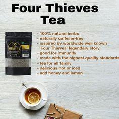 Four Thieves, Tea Facts, Famous Cocktails, Premium Tea, Healthy Herbs, Fruit Tea, Lavander, All Family, Pina Colada